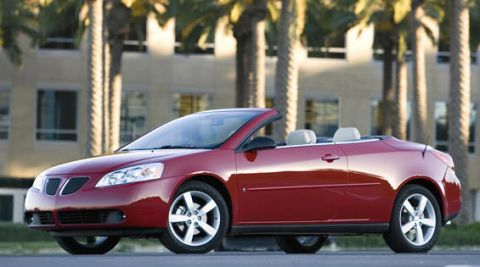2007 pontiac g6 convertible reviews