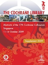 cochrane database of systematic reviews 2016