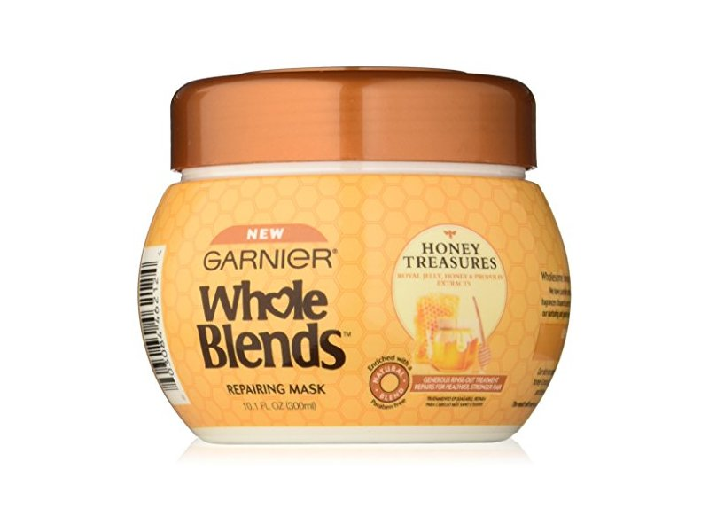 garnier whole blends honey mask review