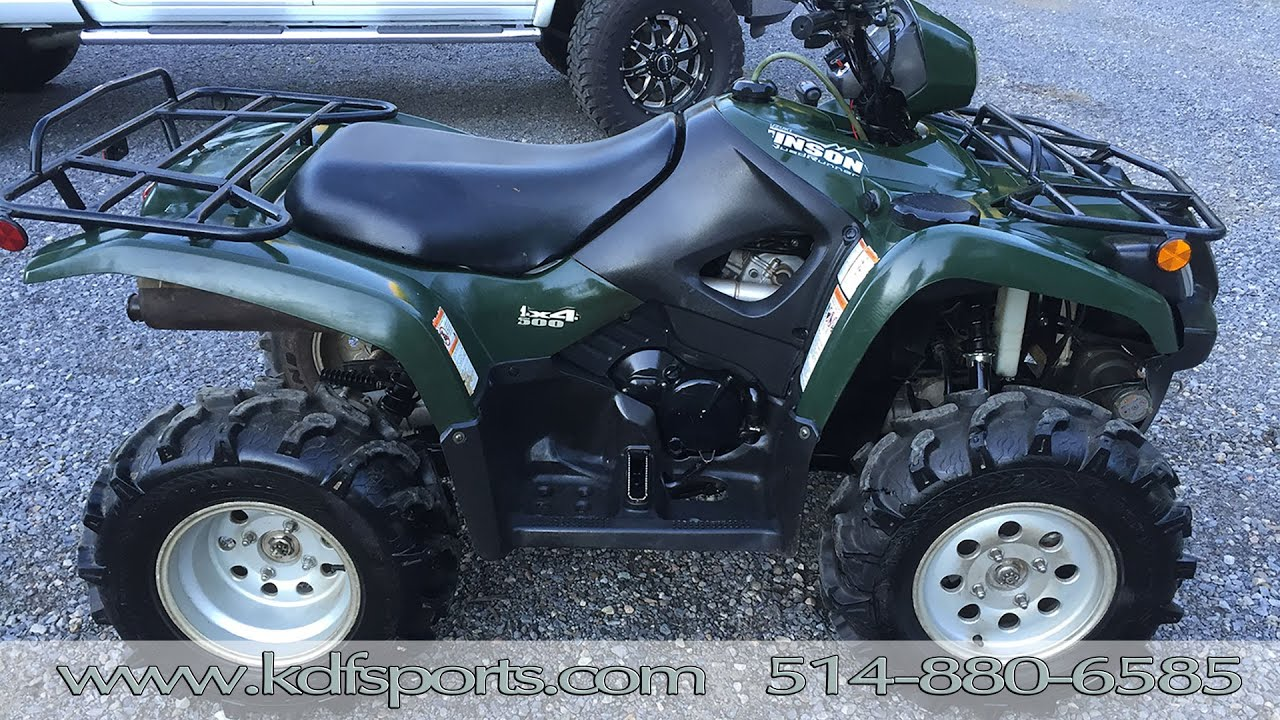 2004 suzuki vinson 500 reviews