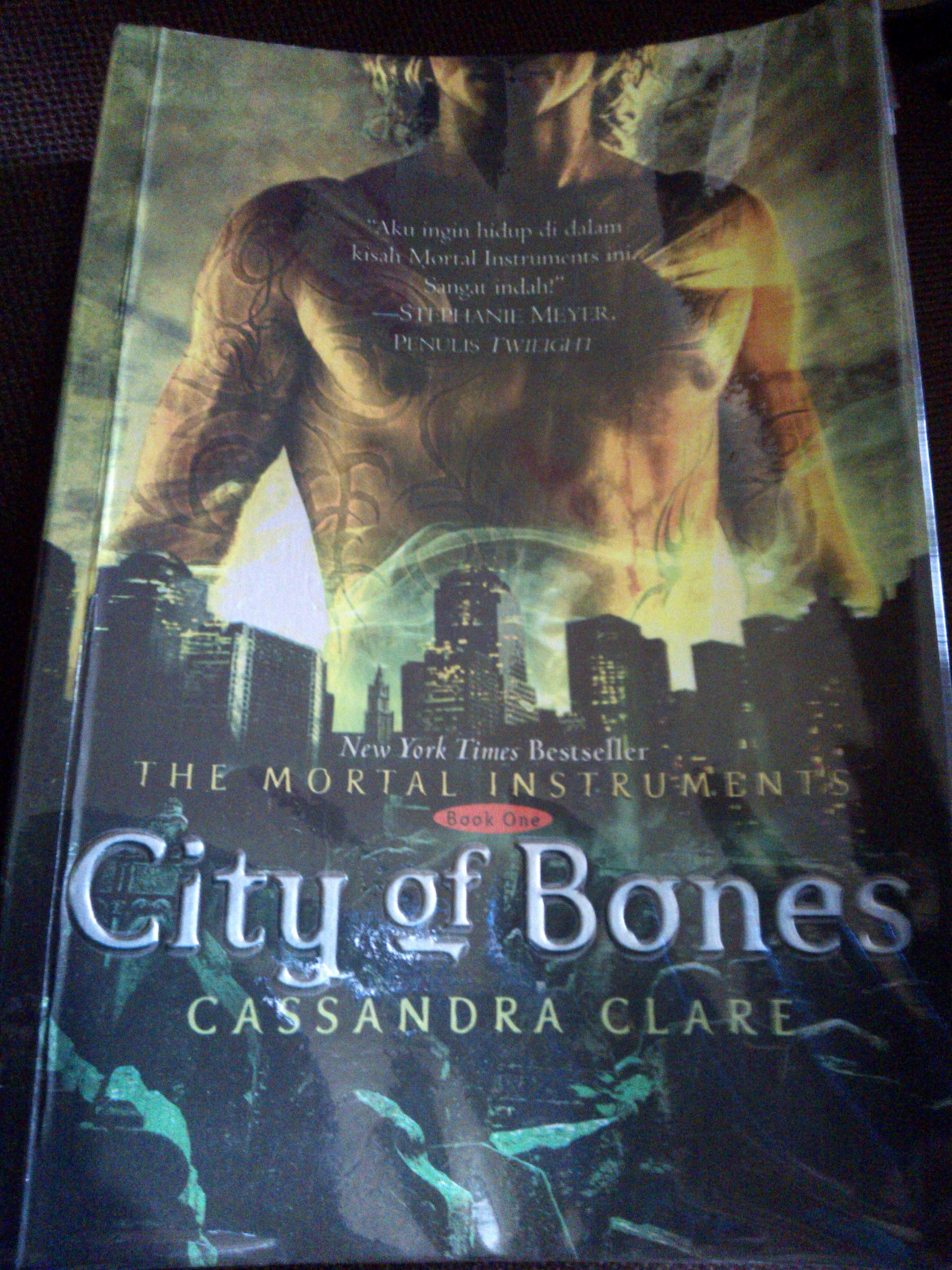 city of bones book review new york times