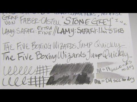 graf von faber castell ink review