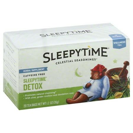 celestial seasonings detox tea reviews