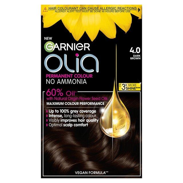 garnier olia 4.0 dark brown review