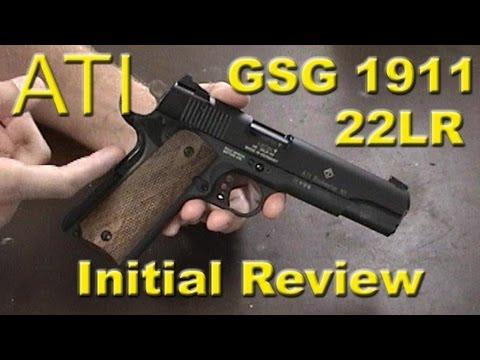 ati gsg 1911 22lr review