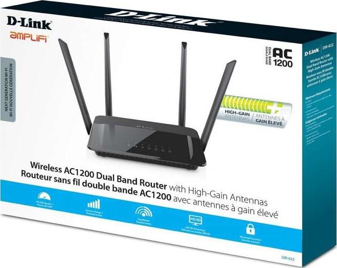 d link dir 822 router review