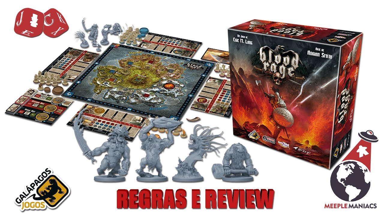 blood rage board game review