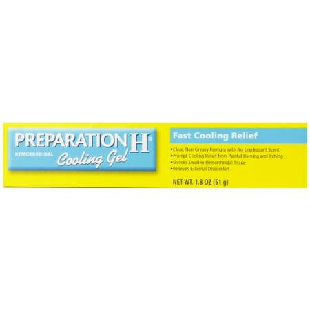 preparation h cooling gel reviews
