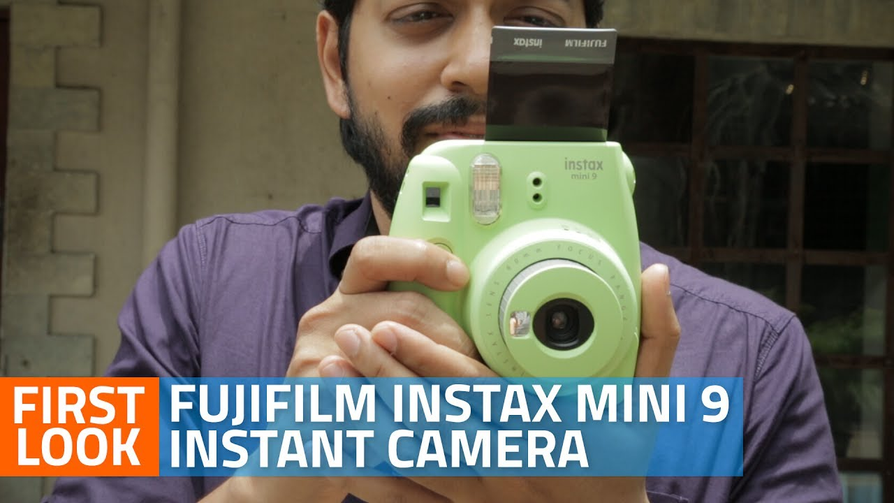 fujifilm instax mini 9 review youtube