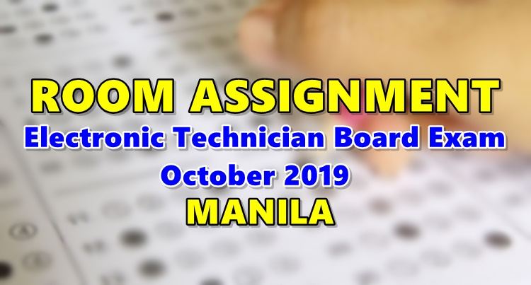 electronics technician board exam reviewer