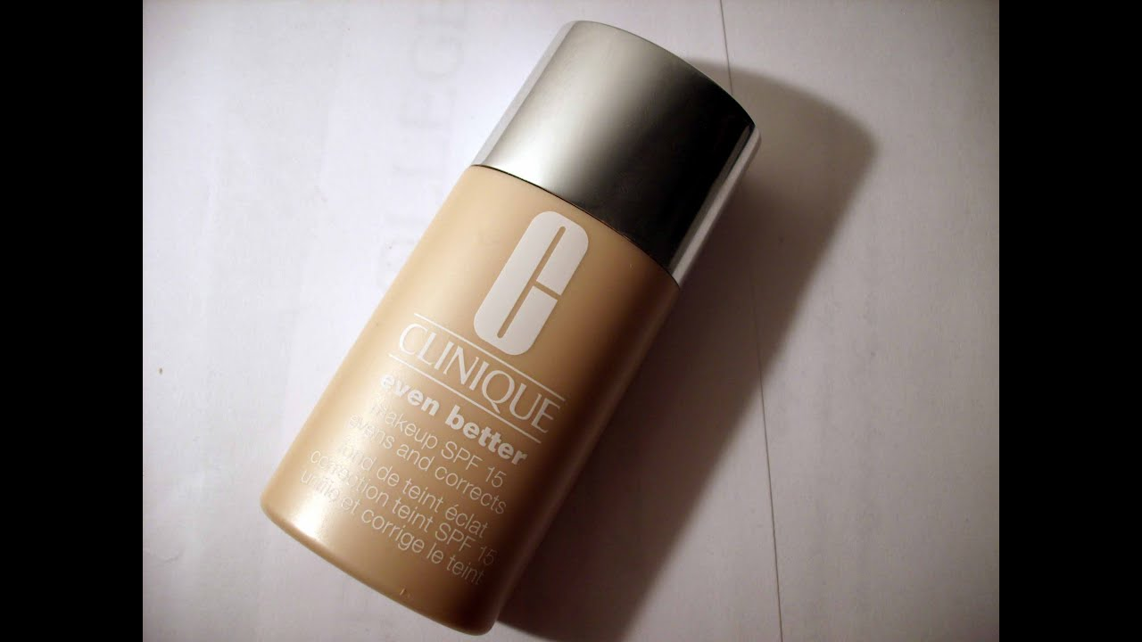 clinique even better foundation review india