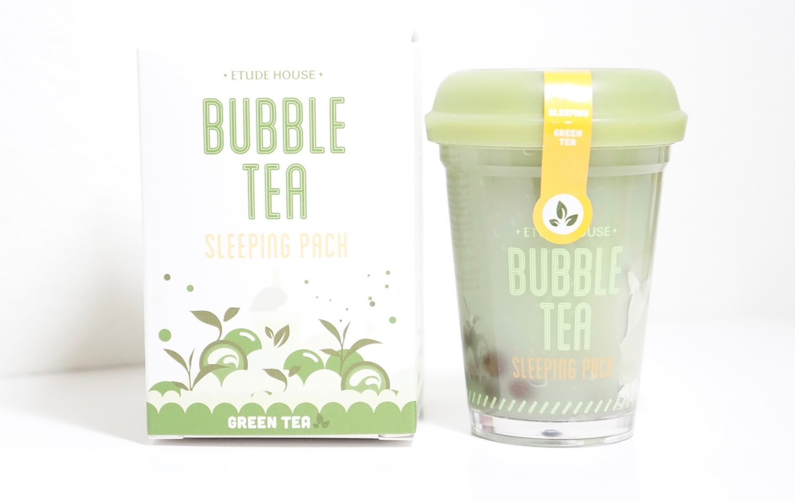 etude house bubble tea sleeping pack review