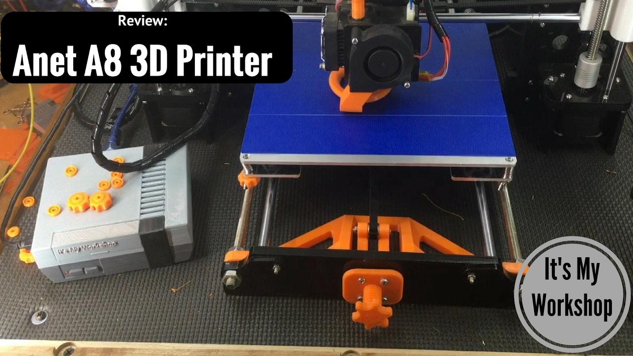 anet a8 3d printer review