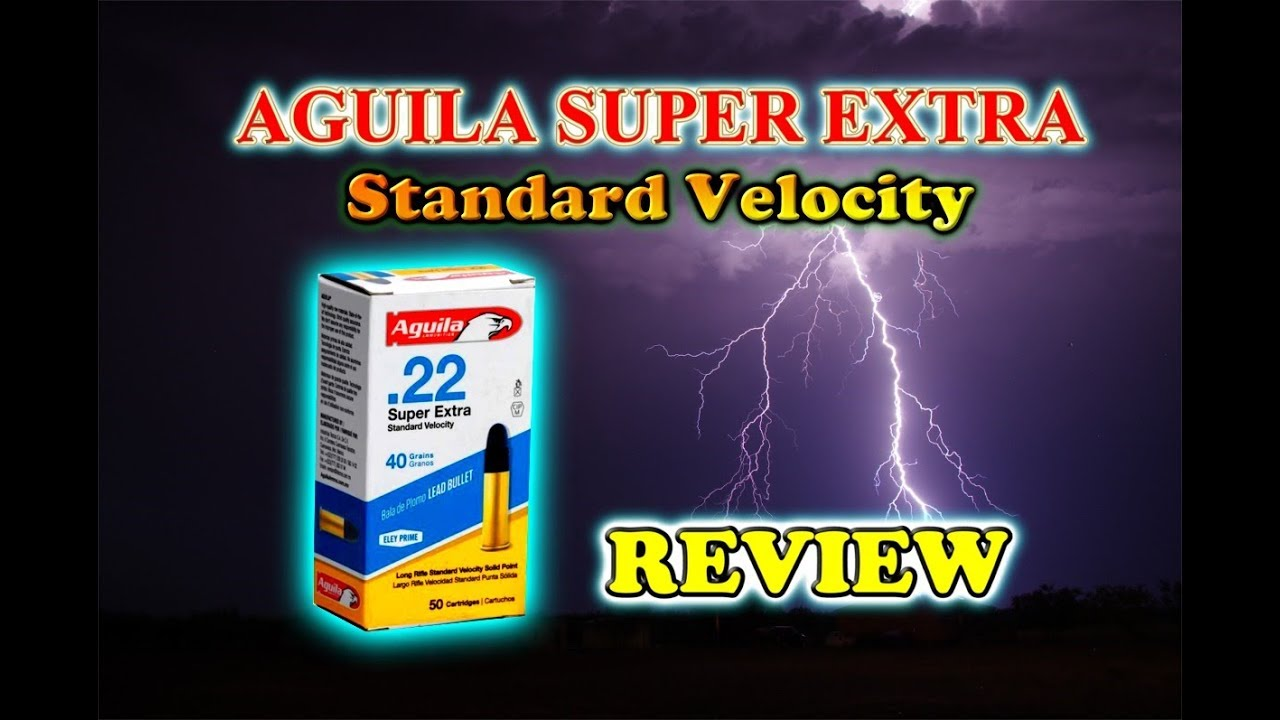 aguila 22lr super extra review