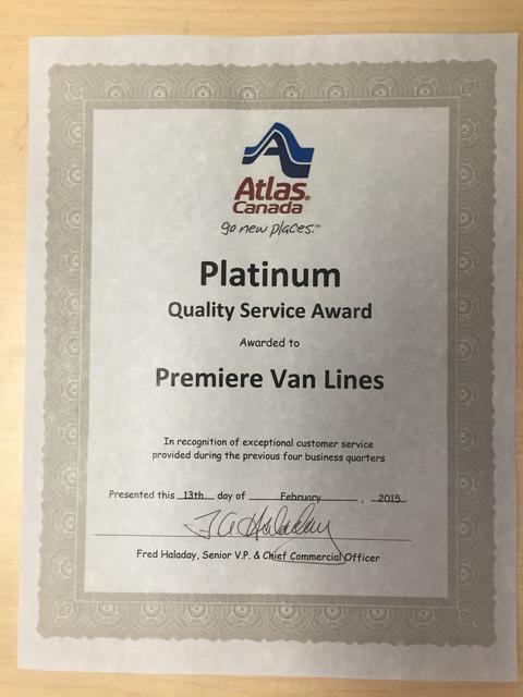 premiere van lines calgary reviews