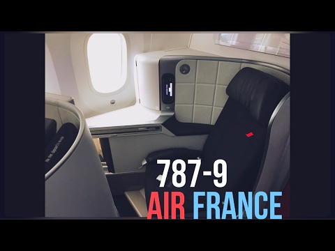 air france 787 business class review