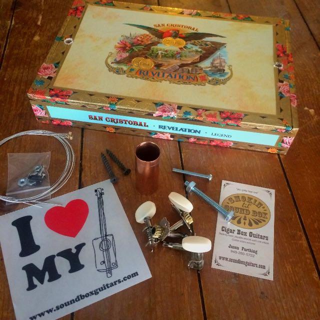 cigar box guitar kit reviews