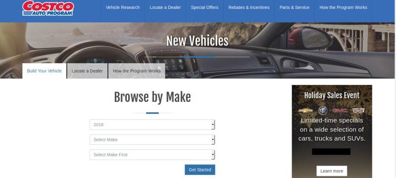 costco car buying program reviews 2017