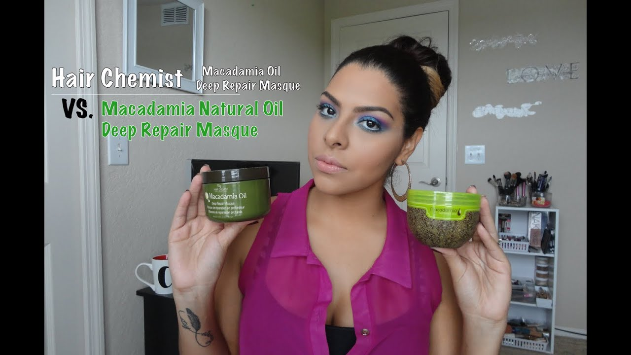 hair chemist macadamia oil deep repair masque review