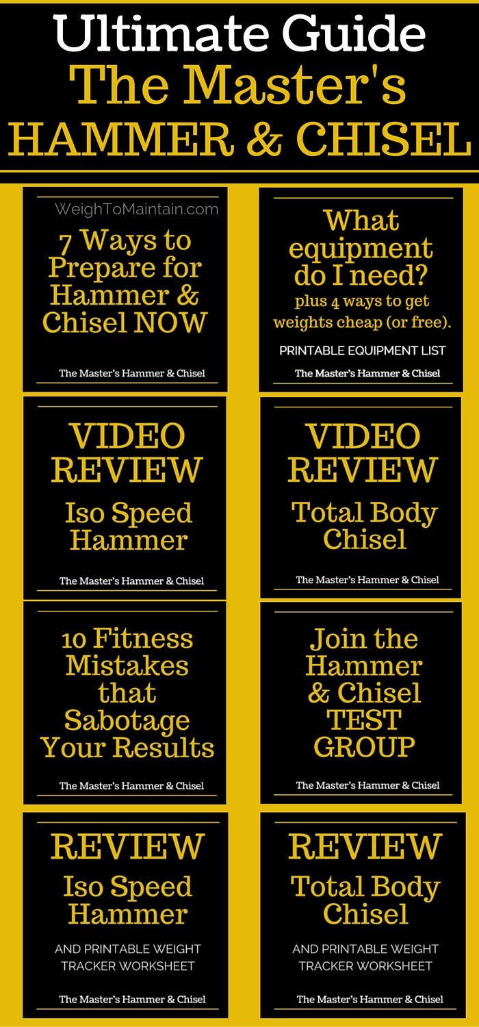 hammer and chisel workout review
