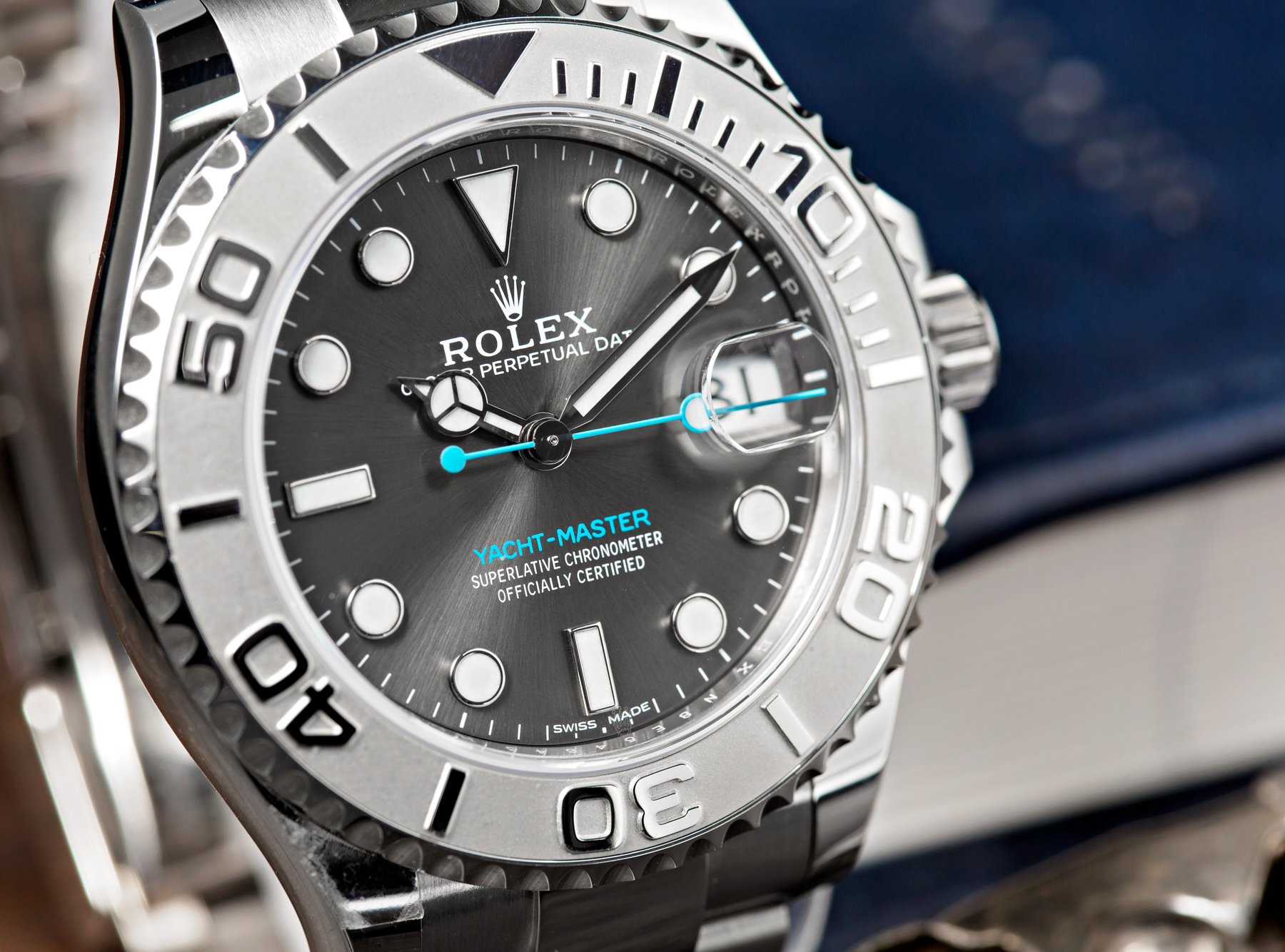 rolex yacht master 37 review