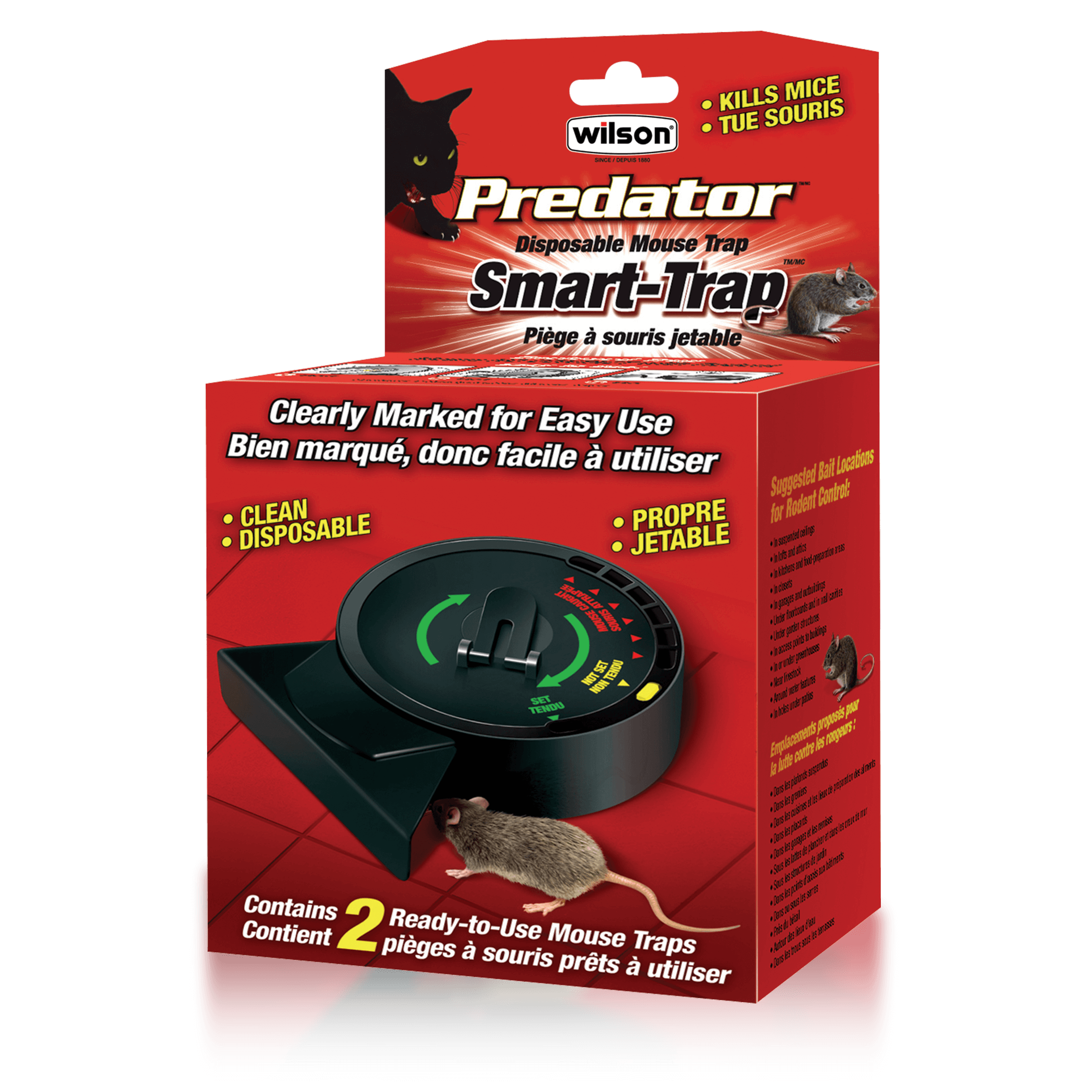 wilson predator mouse bait station review